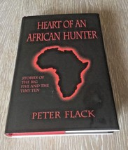 Big Game Hunting Book Heart Of An African Hunter Peter Flack HCDJ The Bi... - $69.88
