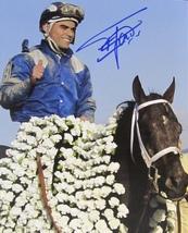 Fernando Jara Autographed Hand Signed Horse Racing 8x10 Photo w/coa - $22.99