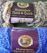 Homespun Thick & Quick Yarn 2 Skeins Super Bulky Violet Coral  Lion Brand - $19.79