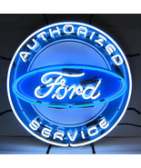 Neonetics Ford neon sign with silkscreen backing - $331.40