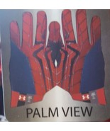 NEW Under Armour Adult Football Receiver Skill Gloves Mavel Comics Spiderman MED - $39.99