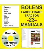 BOLENS Large Frame Tractor HUSKY HT Operator & Maintenance SERVICE MANUA... - $14.49