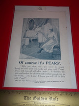 Home Treasure Ad Pears Soap Care Advertising Collectible 1897 Dangerous ... - $9.49