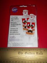 Wilton Party Supplies Set Happy Santa Christmas Holiday Treat Pop Decorating Kit - $9.49