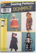 Simplicity 4467, Toddlers Costumes, Candy Corn, Witch & More, Size ½, 1,... - $4.95