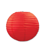 """Beistle Paper Lanterns Red 9.5"""" (3 Count)- Pack of 6 - $47.68"""