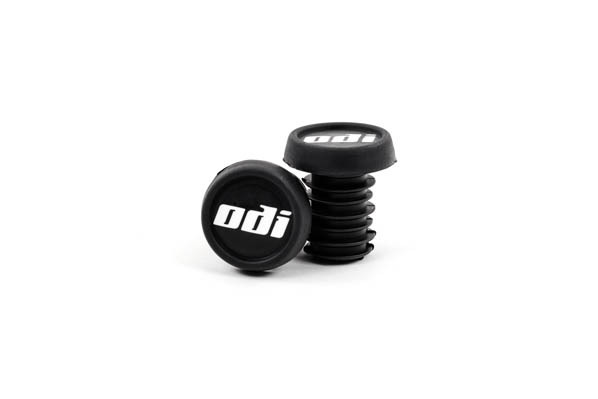 NYLON PURPLE ODI  BAR END PLUGS HANDLEBAR CAPS BMX  PUSH IN NEW