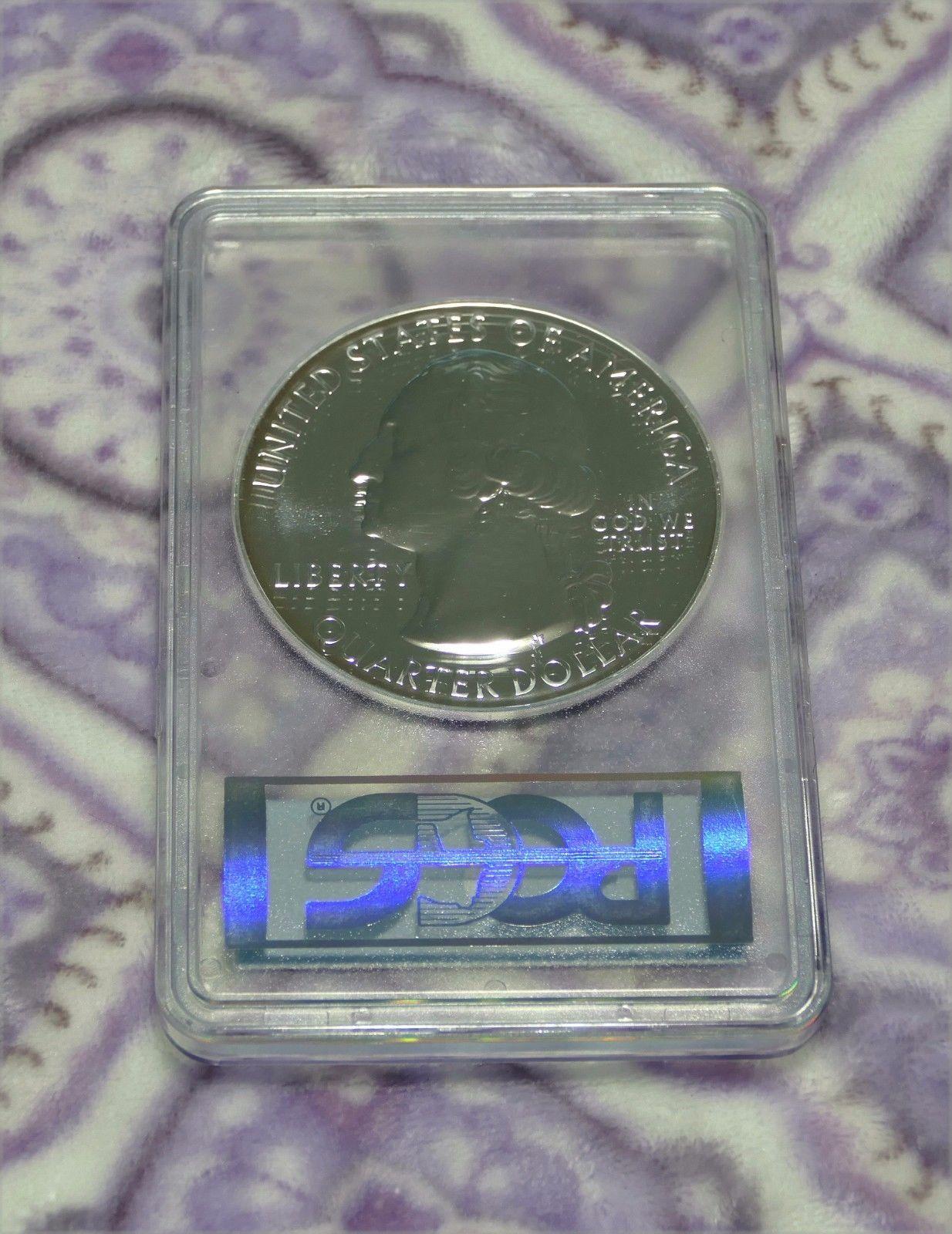 2010 PCGS MS69 DMPL FS Yosemite 5 OZ .999 SILVER Coin America The Beautiful