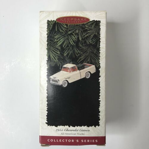 Hallmark Keepsake 1996 Ornament 1955 Chevrolet Cameo Second in Series image 1