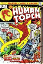 Marvel THE HUMAN TORCH (1974 Series) #4 FN - $3.99
