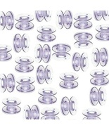 30 Bobbins for Brother Sewing Machine Models PC420PRW, XR9500PRW Project... - $9.99