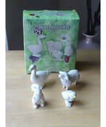 "Dept. 56 1999 Snowbunnies ""Animals On Parade"" Figurines - $20.00"