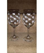Beautiful Snowflake Wine Goblet Set - $15.00