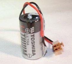 ER17330V 3.6V 1700mAh PLC Lithium Battery - With Brown Connector - $24.33