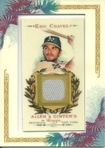 2007 Topps Allan & Ginters Eric Chavez EC Athletics - $3.50