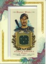 2007 Topps Allan & Ginters Relics Randy Winn RW Giants - $3.50