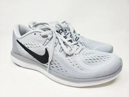 Nike Flex 2017 RN Womens Grey White Running Training Shoes 898476-002 sz 9 - $49.45