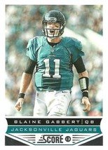 2013 Panini Score #95 Blaine Gabbert NM-MT Jaguars - $0.99