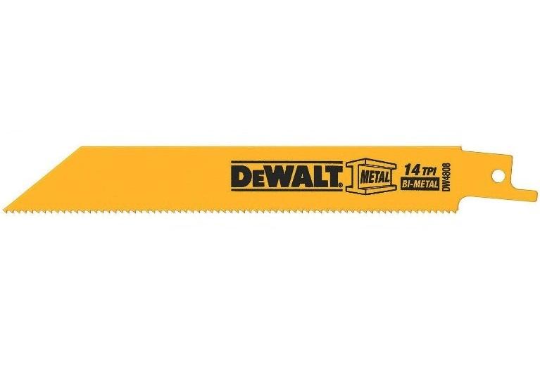 DEWALT DW4856 Metal Wood Cutting Reciprocating Saw Blade Set Woodcutting 6 Pcs.
