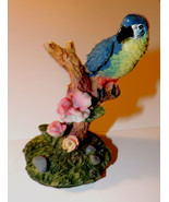 Beautiful Macaw Parrot Decorative Figurine 4 inches - $5.00