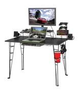 Computer Gaming Desk Game Station Monitor TV Stand Bedroom Furniture XBo... - $150.00