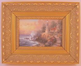 Thomas Kinkade The Light Of Peace Framed Print Canvas Board - $66.82