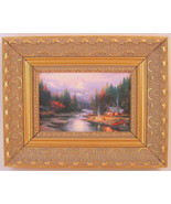 Thomas Kinkade The End of a Perfect Day II Framed Print Canvas Board - $74.24