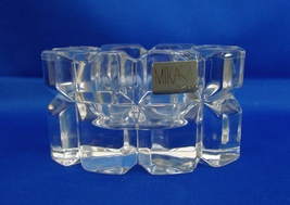 "MIKASA Crystal ""REFLECTIONS"" Votive Tea Light Candle Holder - $29.99"