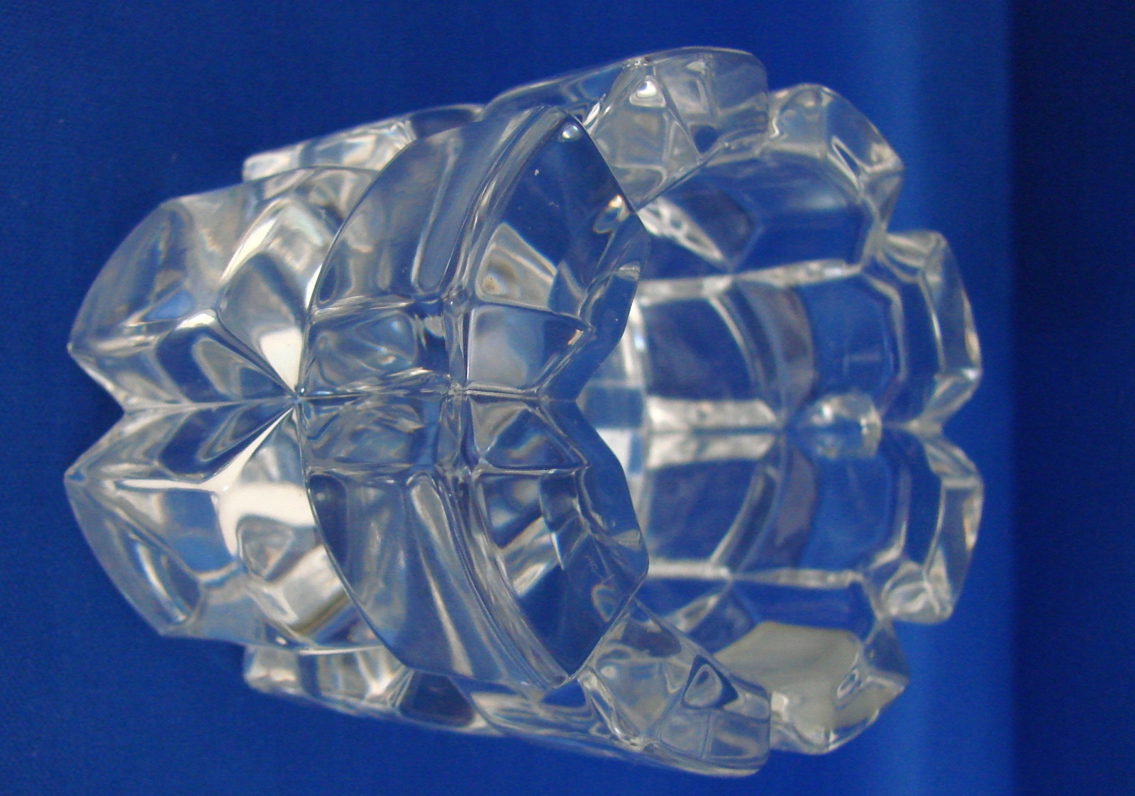 "MIKASA Crystal ""REFLECTIONS"" Votive Tea Light Candle Holder"