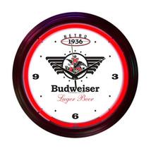 Neonetics Budweiser 1936 retro neon clock - $65.52