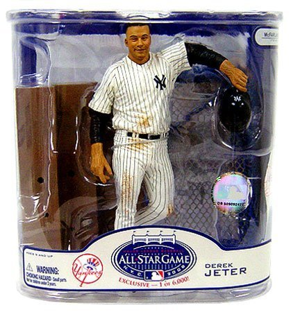 McFarlane MLB 2008 ASG Fan Fest Exclusive Derek Jeter New York Yankees Action...
