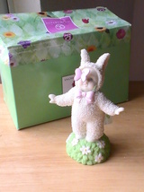 "Dept. 56 2004 Snowbunnies ""You Make My Heart Flutter"" Figurine  - $24.00"
