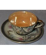 Made in Japan Vintage Dragon Ware Lustre Cup and Saucer - $20.00