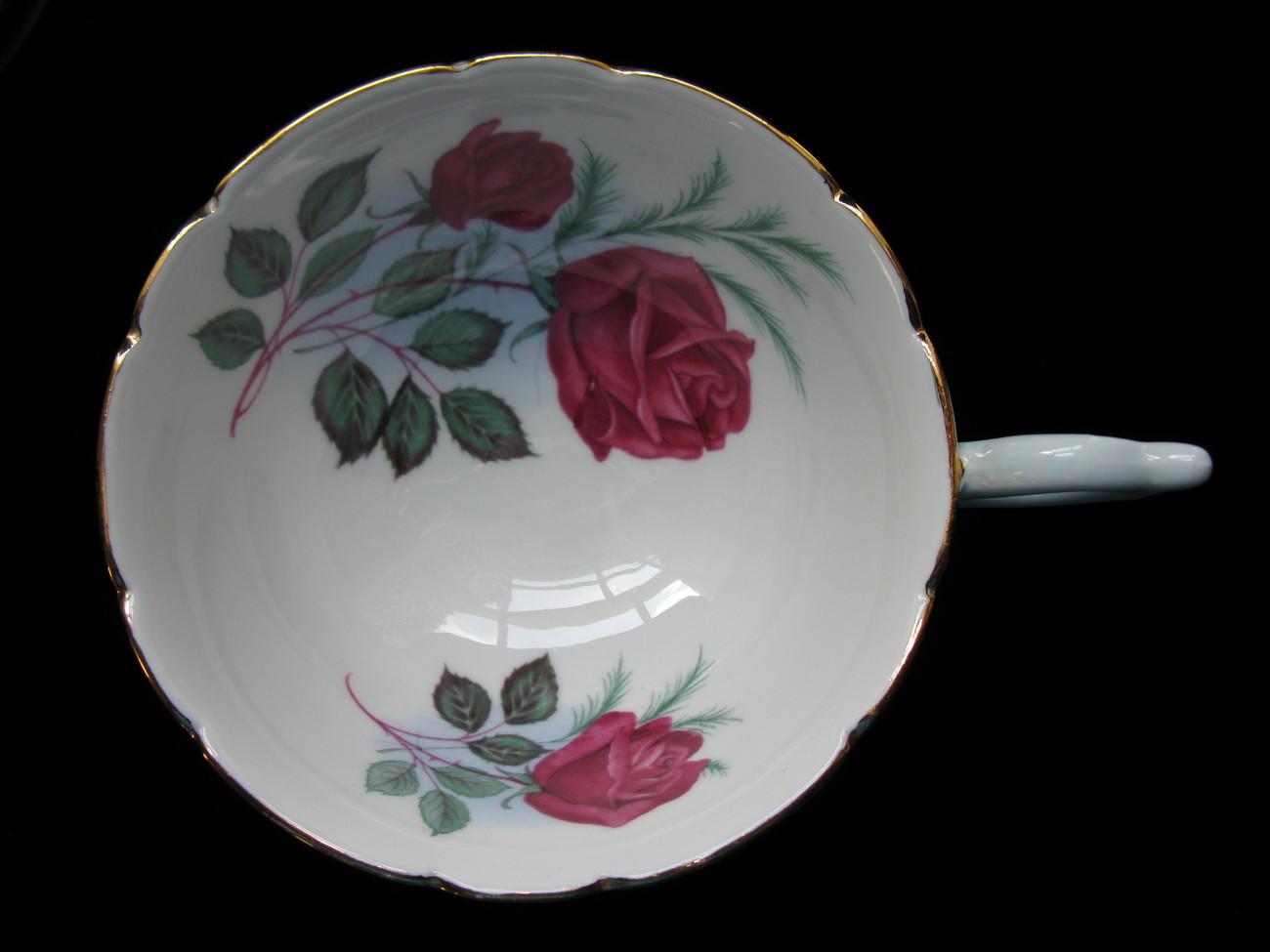 Heathcote Blue English Fine Bone China Cup & Saucer