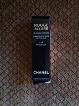 Chanel Rouge Allure Lipstick Luminous Intense Lip Colour 114 Precieuse .12oz NEW - $59.39