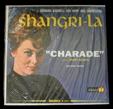 Richard Boswell - Shangri-La  Rare Mono Easy Listening LP - $10.00