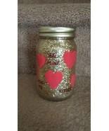 Valentine Mason Jar Candle - $15.00