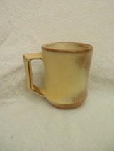 Frankoma Desert Gold Yellow and Tan Mug C5 - $5.50