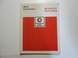 Detroit Diesel Allison Transmissions MT 644 654 Parts Catalog SA 1551E U... - $49.45