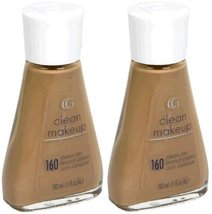 CoverGirl Clean Liquid Make Up #160 Classic Tan (Qty. Of 2 Bottles as shown I... - $19.99