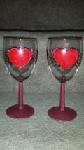 Valentine Wine Glass Set - $15.00
