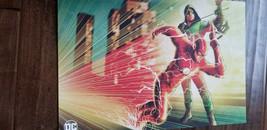 2019 Sdcc Comic Con Exclusive Abrams Dc Wb The Flash & Green Arrow Promo Poster - $15.83