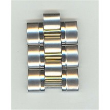 Seiko 48J6XB-LK Genuine Gold/Silver Two Tone Stainless Steel Metal Link ... - $25.00