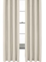 NEW Liz Claiborne Kathryn Thermal Grommet Curtain Panel Beige Seed Pearl... - $18.90