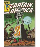 Marvel Captain America Special Edition #2 Steve Rogers Action Adventure - $4.95