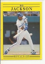 (SC-384) 1991 Fleer Baseball Card #561: Bo Jackson - $0.75