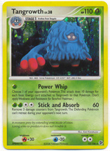 Tangrowth 10/106 Holo Rare Great Encounters Pokemon Card - $1.49