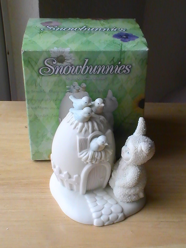 "Primary image for Dept. 56 1999 Snowbunnies ""Guests Are Always Welcome"" Figurine"