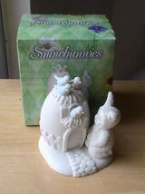 "Dept. 56 1999 Snowbunnies ""Guests Are Always Welcome"" Figurine  - $28.00"
