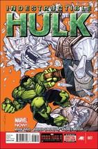 Marvel INDESTRUCTIBLE HULK #7 VF - $1.59